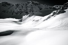 Krajobraz góra Fotografia Royalty Free