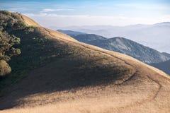 Krajobraz góra Monjong w Chiang Mai Zdjęcie Stock