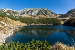 Krajobraz góra Tate zdjęcie royalty free