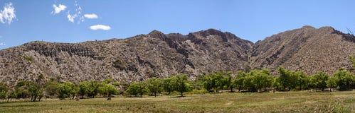 Krajobraz góra w Jujuy ` s prowinci Obraz Stock