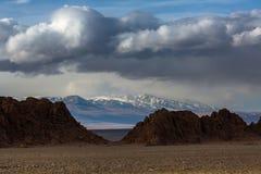Krajobraz góry w Zachodnim Mongolia Natura Zdjęcie Stock