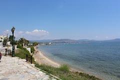 Krajobraz Grecja blisko Patras obraz stock