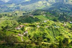 Krajobraz Guatape, Kolumbia Zdjęcia Royalty Free