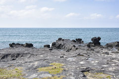 Krajobraz Guem-ri przy Olle śladem Zdjęcia Stock