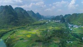 Krajobraz Guilin Li rzeka Zdjęcie Royalty Free