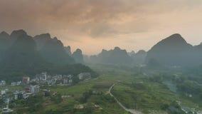 Krajobraz Guilin Li rzeka Obrazy Royalty Free