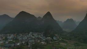 Krajobraz Guilin Li rzeka Obraz Royalty Free
