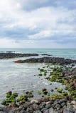 Krajobraz Gwakji wybrzeże obrazy royalty free