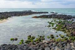 Krajobraz Gwakji wybrzeże Zdjęcie Royalty Free