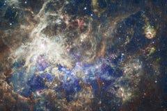 Krajobraz gwiazdowi grona Piękny wizerunek przestrzeń kosmos sztuka royalty ilustracja