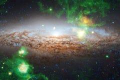 Krajobraz gwiazdowi grona Piękny wizerunek przestrzeń kosmos sztuka Elementy ten wizerunek meblujący NASA ilustracja wektor