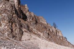 Krajobraz Halne skały zdjęcia stock
