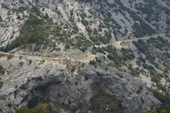 Krajobraz, Haute Provence Zdjęcie Stock