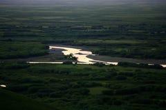 Krajobraz Hulunbuir obszary trawiaści Obraz Stock