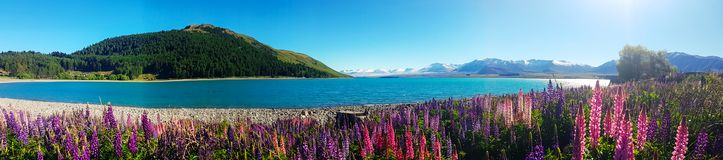 Krajobraz i naturalny piękno szeroka fotografii panorama Fotografia Stock