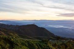 Krajobraz i pagoda Obraz Stock