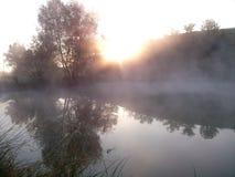Krajobraz i woda Zdjęcia Royalty Free