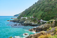 Krajobraz Igidae wybrzeże zdjęcie royalty free