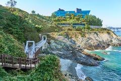Krajobraz Igidae wybrzeże zdjęcia royalty free
