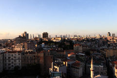 Krajobraz Istanbuł miasto Fotografia Stock