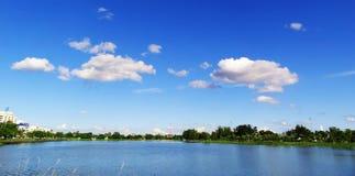Krajobraz jawny park, Udonthani Tajlandia Zdjęcia Stock