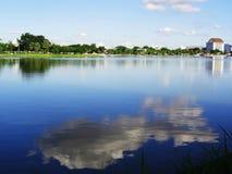 Krajobraz jawny park, Udonthani Tajlandia Zdjęcia Royalty Free