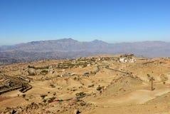 Krajobraz Jemen Obrazy Stock