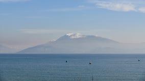 Krajobraz Jeziorny Garda obraz royalty free