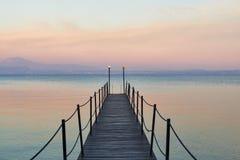 Krajobraz Jeziorny Garda fotografia royalty free