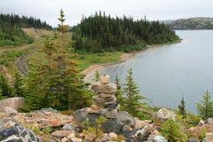 Krajobraz jezioro Fotografia Stock