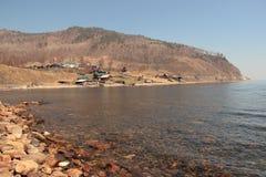Krajobraz, jezioro fotografia royalty free
