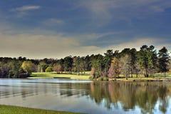 Krajobraz - jezioro fotografia royalty free