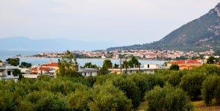 Krajobraz Kamena Vourla zdjęcie royalty free