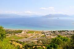 Krajobraz Kamena Vourla zdjęcia stock
