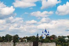 Krajobraz Kamianets-Podilskyi, Ukraina obraz royalty free