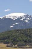 Krajobraz Katalońscy Pyrenees, Cerdanya, Girona, Hiszpania Fotografia Stock