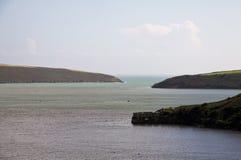 Krajobraz Kinsale zatoka, Irlandia Zdjęcia Royalty Free