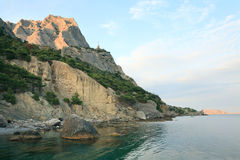 krajobraz kołysa morze Zdjęcie Stock