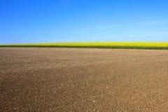 krajobraz kształtuje tekstury Zdjęcia Royalty Free