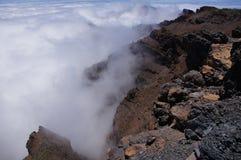Krajobraz lawowe góry Zdjęcie Stock