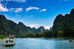 Krajobraz li Jiang Zdjęcie Royalty Free