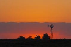 Krajobraz, losu angeles Pampa, Argentyna Zdjęcia Stock