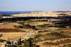 Krajobraz, Malta Zdjęcia Stock