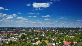 Krajobraz Minsk miasto w Białoruś zdjęcie stock
