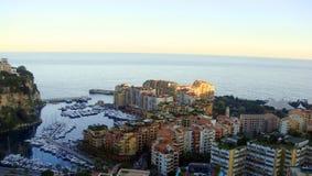 Krajobraz Monaco obraz royalty free