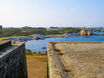 Krajobraz na Guernsey wyspie Obraz Stock