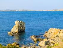 Krajobraz na Guernsey wyspie Fotografia Stock