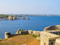 Krajobraz na Guernsey wyspie Zdjęcia Stock
