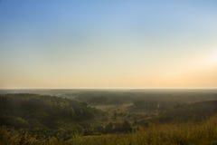 Krajobraz na letnim dniu Obrazy Stock