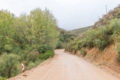 Krajobraz na Oude Muragie drodze Zdjęcie Stock